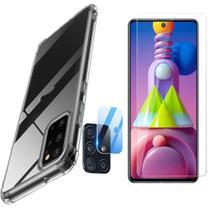 Capa Anti Queda Samsung Galaxy M51 + Pelicula Vidro + Camera -