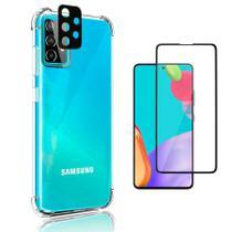 Capa Anti Quedas Galaxy A72 A72 5G + Película 5D Cerâmica + Película Câmera Nano - FIT IT