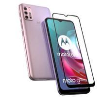Capa Anti Quedas Motorola Moto G30 + Película 5D Nano Cerâmica - CK
