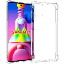Capa Anti Quedas Samsung Galaxy M51 Bordas Anti Shock - Jfo.Comercio