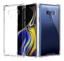 Capa Anti Shock Galaxy Note 9 + Pelicula Gel - Crystal