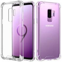 Capa Anti Shock Galaxy S9 + Pelicula De Vidro Gruda 100% - Cell Case