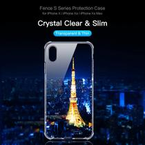 Capa Anti Shock Para Iphone XR 6.1 Rock Fence - Transparente