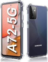 Capa Anti Shock para Samsung Galaxy A72 +Pelicula de Vidro 3D - Hrebos