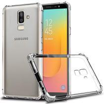 Capa Anti Shock + Pelicula de Gel Tela Toda para Samsung Galaxy J8 - J810 - Fse acessórios