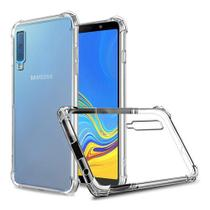 Capa Anti Shock + Pelicula De Vidro Samsung A7 2018 -sm-a750 - Crystal