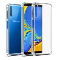 Capa Anti Shock Samsung Galaxy A7 2018 + Pelicula De Gel - Crystal