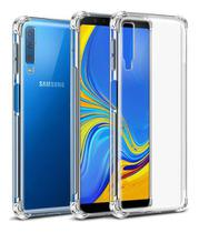 Capa Anti Shock Samsung Galaxy A7 2018 + Pelicula De Vidro - Crystal