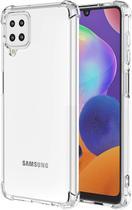 Capa Anti Shock Samsung Galaxy M12 + Pelicula de Vidro 3d + Cabo Carregador - cell case