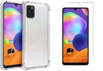 Capa Anti Shock Samsung Galaxy M31 +Pelicula de Vidro - Cell Case