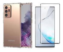 Capa Anti Shock Transparente + Película de Nano Gel 5D Galaxy Note 20 Ultra - Sky Dreams Eletronics