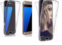 Capa Antishock Capinha 360 Frente E Verso Samsung Galaxy S7 Edge - 5.5 Polegadas - Hmaston
