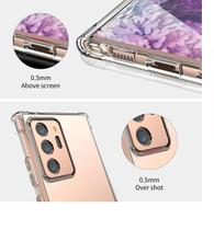 Capa Antishock Case Bordas Reforçadas Samsung Galaxy A01 Note 20 Ultra Tela 6.9 - Dv Acessorios