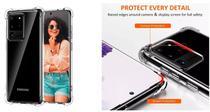 Capa AntiShock Reforçada Laterais Samsung Galaxy S20+ Plus 6.7 + Película Nano Gel - Dv Acessorioson