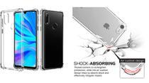 Capa Antishock Reforçada Nas Bordas Huawei P30 Lite + Película De Gel Cobre 100% - Dv