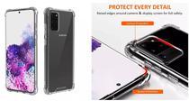Capa AntiShock Reforçada nas Quinas Laterais Samsung Galaxy S20 6.2 - Dv Acessorioson