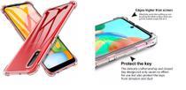 Capa Antishock Reforçada Samsung Galaxy A01 + 01 Película De Nano Gel + Acompanha Kit Sachê - Dv Acessorios