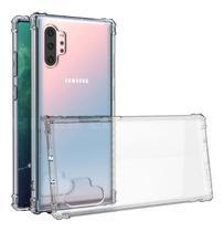 Capa Antishock Transparente + Pelicula de Gel 5D Galaxy Note 10 Pro / Plus - Sky Dreams Eletronics