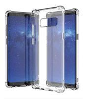 Capa Antishock Transparente + Pelicula De Gel 5d Samsung Galaxy Note 8 -