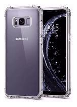 Capa Antishock Transparente + Película De Nano Gel 5d Samsung Galaxy S8 -