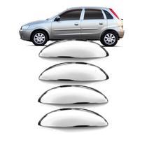 Capa Aplique Maçaneta Cromada Corsa e Meriva 2002 a 2012 4 Portas - Shekparts