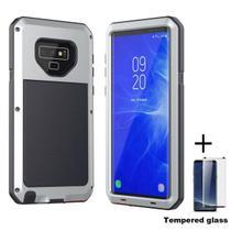 Capa Armadura Super Blindada Samsung Galaxy S10e - Prata - Oem