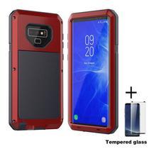 Capa Armadura Super Blindada Samsung Galaxy S8 Plus - Vermelho - Oem