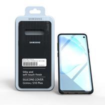 Capa Aveludada Silicone Samsung S10 Plus -