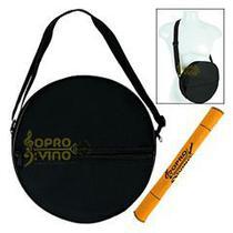 "Capa Bag Pandeiro 10"" Luxo Simples Protection Bags + Flanela -"