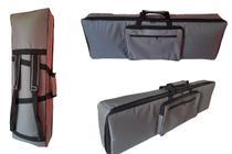Capa Bag Teclado Master Luxo Korg Kross 61 - Relâmpago Bags