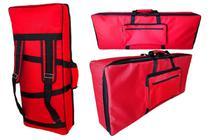 Capa Bag Teclado Master Luxo Korg Pa600 - Relâmpago Bags