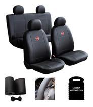 Capa Banco Automotivo Carro Couro Uno Way / Vivace - Fiat