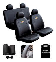 Capa Banco Automotivo Carro Sintético  Prisma 2015 - Chevrolet