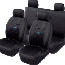 Capa Banco Automotivo Ford Couro  Universal Impermeável Protetora -
