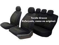 Capa Banco Automotivo Original Preta Nissan March Versa e Universal - Garagem12