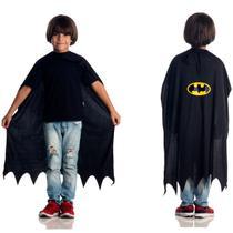 Capa Batman Infantil - Liga da justiça
