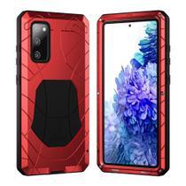 Capa Blindada X-Force Samsung Galaxy S20 FE  Vermelho - Oem
