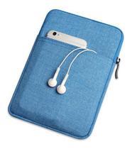 Capa Bolsa Sleeve Kindle Paperwhite e Standard de 6 polegadas - Azul - Fullmosa