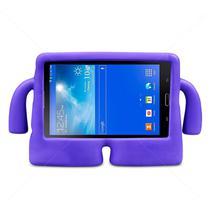 "Capa Boneco Iguy Infantil Para Tablet Samsung Galaxy Tab A 7"" SM-T285 / T280 + Película de Vidro - Arctodus"