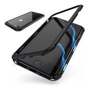 Capa Bumper (PRETA) C/ Vidro Traseiro Magnética Imã Iphone 11 Pro Max - Dv