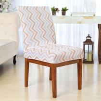 Capa Cadeira p/ Mesa Sala de Jantar 6 Lugares Modern Baby - Charme do Detalhe