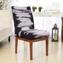 Capa Cadeira p/ Mesa Sala de Jantar 6 Lugares Modern Giz - Charme Do Detalhe