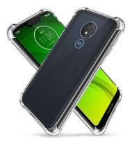 Capa Capinha Anti Choque TPU Para Celular Moto G7 Play - Urm