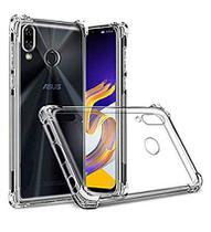 Capa Capinha Anti Impacto Asus Zenfone 5Z ZS620KL + Pelicula Vidro 3D Full Cover Borda Preta - 3d+