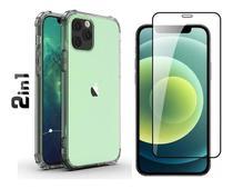 Capa Capinha Anti Impacto Iphone 12 Pro Max + Pelicula de Vidro 9D - Flex