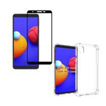 Capa Capinha Anti Impactos Samsung Galaxy A01 Core + Película 3D de Vidro - Xmart