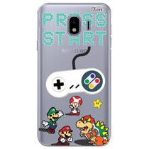 Capa capinha anti shock galaxy j4 2018 nintendo 0501 - Quarkcase