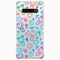 Capa capinha anti shock galaxy s10+ plus bonecas 0216 - Quarkcase
