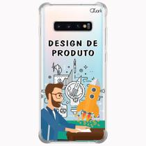 Capa capinha anti shock galaxy s10+ plus design pro 1356 - Quarkcase