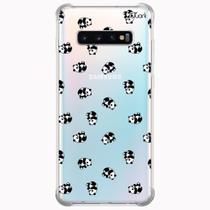 Capa capinha anti shock galaxy s10+ plus panda patt 1620 - Quarkcase